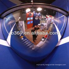 100cm quarter dome mirror, 90 degree acrylic safety dome mirror