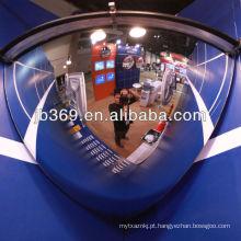 Espelho da abóbada do quarto de 100cm, espelho acrílico da abóbada da segurança de 90 graus