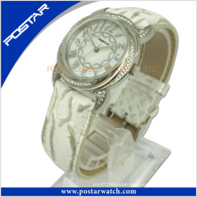 Newest Design Round Digital Watch with Stones