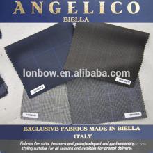 tela de traje italiano de lujo