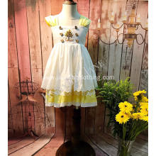 yellow toddler unique easter dresses