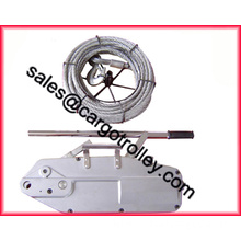 Wire rope pulling tools applications