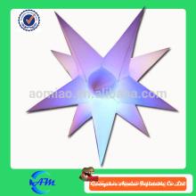 A estrela inflável conduzida inflável da estrela da estrela conduziu a estrela da iluminação para a venda