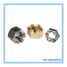 Hex Nut Hexagon Slotted Nut-1-5 / 8 ~ 1-3 / 4