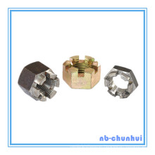 Hex Nut Hexagon Slotted Nut-1-5/8~1-3/4