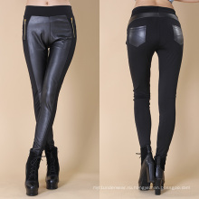 Женщины кожаные штаны завод