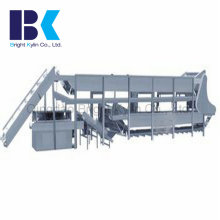 Double Layer Pasteurization, Cooling Air Drying Production Line