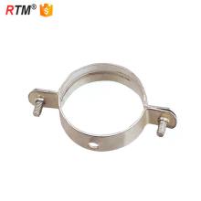 J17 3 15 1 braçadeiras de tubo galvanizado M10 rosca braçadeira de tubo de papa