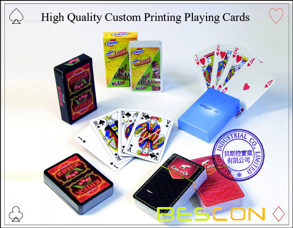 High Quality Custom Printing Playing Cards-1
