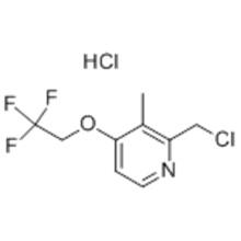 Pyridine,2-(chloromethyl)-3-methyl-4-(2,2,2-trifluoroethoxy)-, hydrochloride (1:1)  CAS 127337-60-4