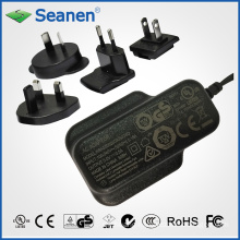 5W Multi-Plugs AC/DC Adaptor (RoHS, efficiency level VI)