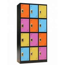 Metal Electronic Code Lock 12 Door Locker