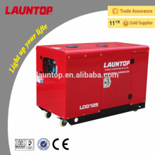10.0kw silent diesel generator with 20hp (954cc) Lombardini engine by Launtop