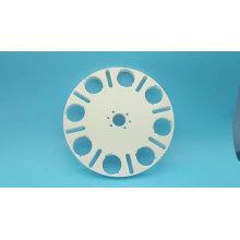 customized high purity alumina ceramic tube alumina ceramic tray
