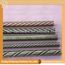 30x15mm, tubo oval cromado 30x25mm, tubo cromado de ferro
