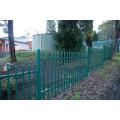 Revestimento revestido poder da cerca de segurança do jardim do metal