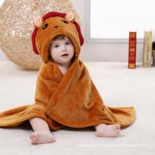 Super Soft Newborn Baby Flannel Blanket / 3D Stereoscopic Cloak/ Tiger