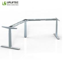 Mesa de pé ajustável em altura mesa branca