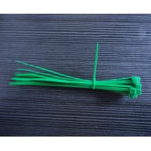Brida de cable verde