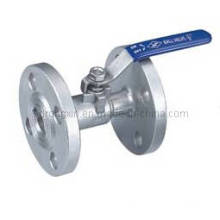 1PC Stainless Steel Flanged Ends Ball Valve