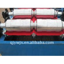 maquinaria de aço do formulário do rolo do telhado da cor com sistema do CNC