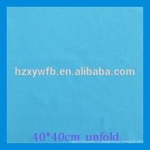 Tissu de verre de Microfiber non-tissé de microfibre de polyester de 100%