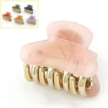 Fashion Colorful Hair Claw Resin Hair Clamps HC04