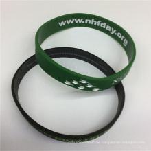 2016 Das späteste Qualitäts-Soem-Silikon-Armband