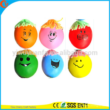 High Quality Novelty Design Funny Stress Face Ball Toys