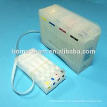 Système de ciss capacité de 500 ml * 4colors haute pour les imprimantes HP970 971 x451 x551 x476 x576