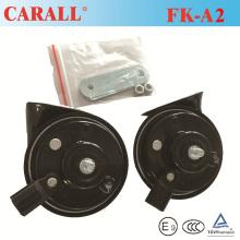 Vente chaude corne de voiture électrique 12V imperméable, corne d'escargot automatique E-MARK approuvée