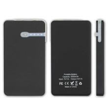 5000mAh carregador de telefone inteligente bateria de bateria de bateria de energia solar