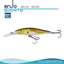 Angler Select New Fishing Tackle School Fish Lure with Vmc Treble Hooks (SB1390)