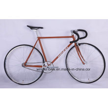 Lugged Cro Moly Retro Vintage Fixed Gear Bicycle