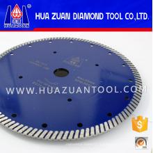 Lame de coupe diamant turbo pour béton en pierre (Hz306)