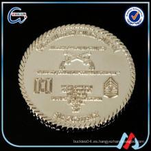 Brillante acabado en plata de dos libras moneda