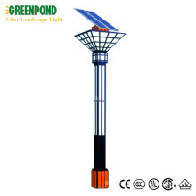 4m Pole Landscape Square Solar Light