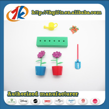 Preschool Toys Garden Play Set Plant Pot Flower & Carrot Toys