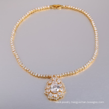 New product 2018 zirconia bridal jewelry set China manufacturer