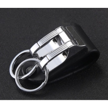 Leather cool keychains for men