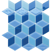 Specail Shape Serie Glas Mosaik für Badezimmer