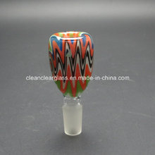 Wholesale Heady Colored Glass Accessories Glass Bowl 14.5mm/18.8mm