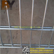 Hot-Dipped Galvanized Double Wire Fence