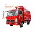 4x2 Light Duty 3 Ton Lorry Truck