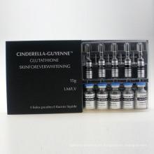 Piel cosmética 3000mg que blanquea la inyección de glutatión reducida