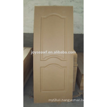3mm mdf moulded door skin / decorative interior door skin panels / door skin prices