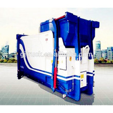 4X2 drive Dongfeng Space saving outdoor mobile 6m3 garbage compactor can