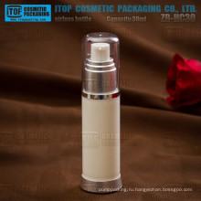 ZB-HC30 30 мл эко-все природные чувство цвета настраиваемые красивые круглые пустой упаковка косметики контейнеры