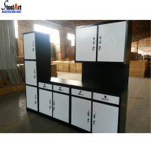 Cheap metal modular kitchen cabinets made in china
