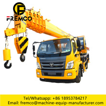 16 Ton Mobile Pickup Crane For Sales